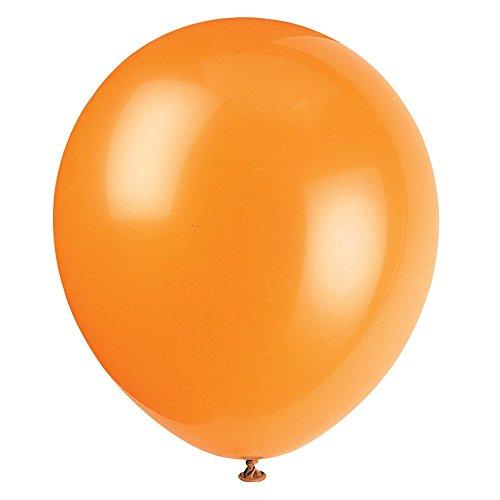 Latex Pumpkin Orange Balloons 72ct