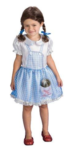 Wizard Of Oz Dorothy Child Costume Size: Toddler -