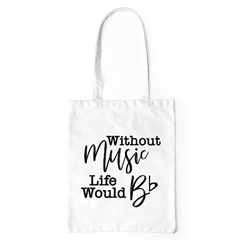 Teacher Gift Music Music Tote White Canvas Funny Bag Professional Bag Without 4x1qSnIAwq