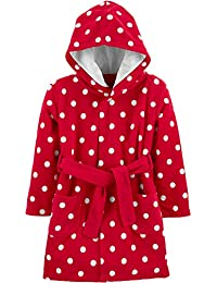 Baby and Toddler Girls' Hooded Sleeper Robe