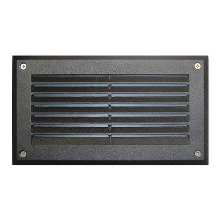 - Wall Light, DSL1000, B, Louvered, Brick, Step