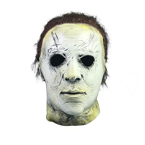 Yacn Halloween Moive Michael Myers Mask Máscara de látex con ...