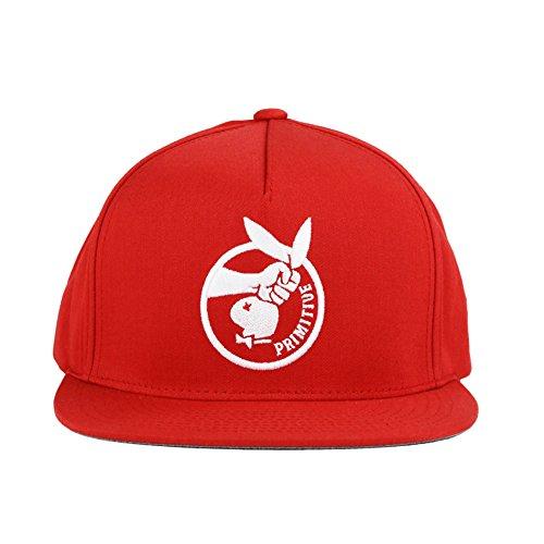 Primitive Game Killer Snapback Hat in Red