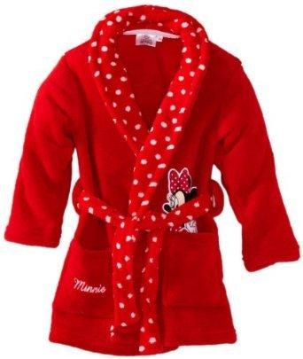 Acheter Peluche Minnie En Robe De Chambre A Capuche Peignoir Minnie Rose Pas Cher Enfant Bebe Fille