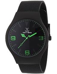 Toy Watch Unisex TOYMH04BK Mesh Analog Display Swiss Quartz Black Watch