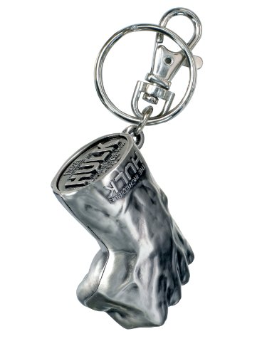 Marvel Hulk Fist Pewter Key Ring ()