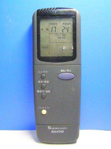 三洋電機 エアコンリモコン RCS-VR3A(K) B00HEDFUFG