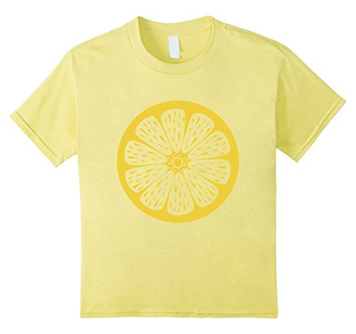 [Kids Lemon Cute Cheap Halloween Costume Fruit Lemons Shirt 12 Lemon] (Cute And Cheap Halloween Costumes)