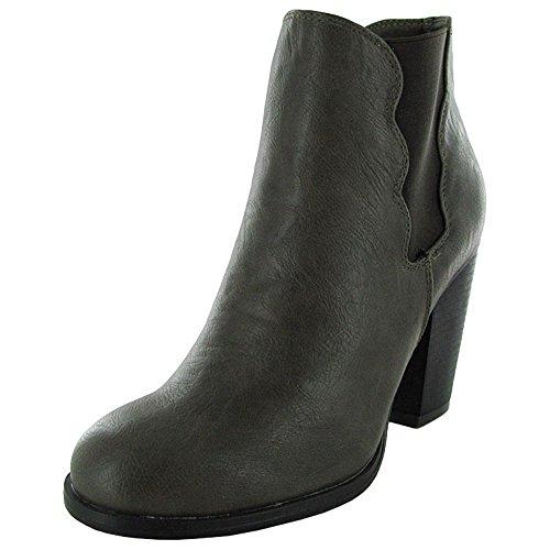 Betsey Johnson Femme Nattalie Bottine Chaussure Taupe