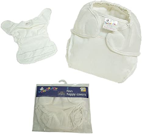Pack of 6, Toddler Junior Joy Superior Pre-Fold Nappy