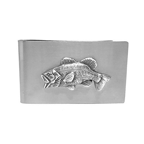 - Bass Fishing Money Clip - Cigar Cutters by Jim Money Clip