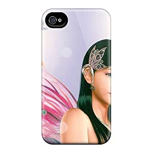 New Shockproof Protection Case Cover For Iphone 4/4s/ Sweet Girl Case Cover by icecream design