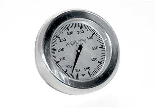 MHP Gas Grill Single Stud Universal Round Temperature Gauge Heat Indicator TG-4B by Modernhome