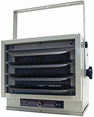 Pro-G Heater Ceiling Mount Electric Mounted Garage Steel Body Safety Overheat Industrial Automatic Thermostat Control 5000 Watts 240V