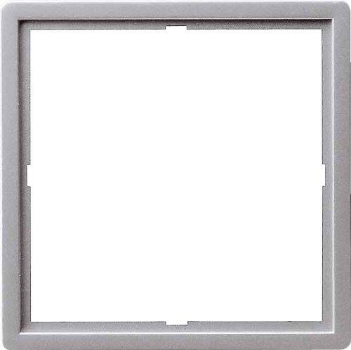 Gira 0282203/Adaptateur Cadre E22/Aluminium 50/x 50/carr/é