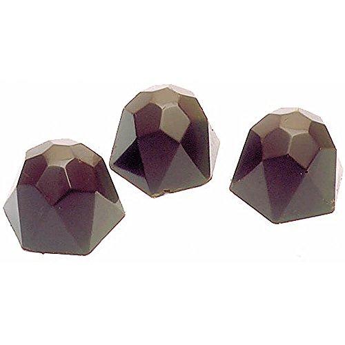 Matfer Bourgeat 380102 40 Cavity Diamond Chocolate Mold ()