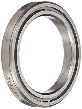 """RBC SAA10AG0 Thin Section Ball Bearing, 440C Stainless Steel, Unsealed, Angular A-Type, 1"""" Bore x 1.375"""" OD x 0.25"""" Width"""