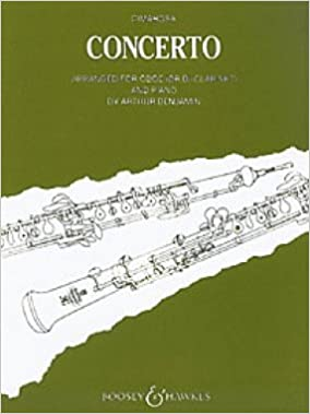 _TOP_ Concerto For Oboe And Strings. Freely Arranged By A. Benjamin. Reduction For Oboe, Or Clarinet, And Piano. utilizar Aaron puedes Bowie venison Health Facility