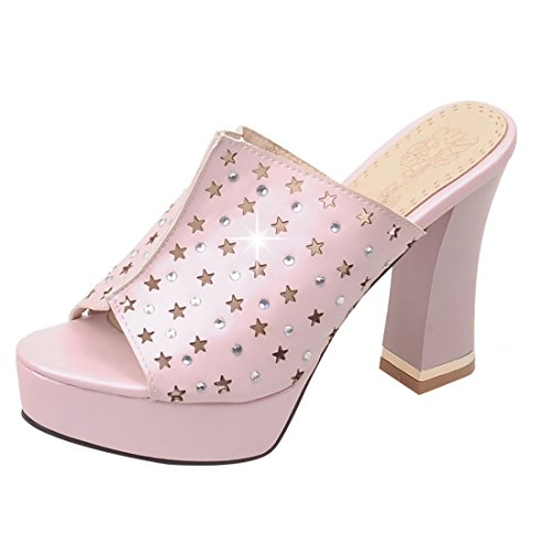 UH Pink sulla Aperte Caviglia Donna 00zw6Oqp