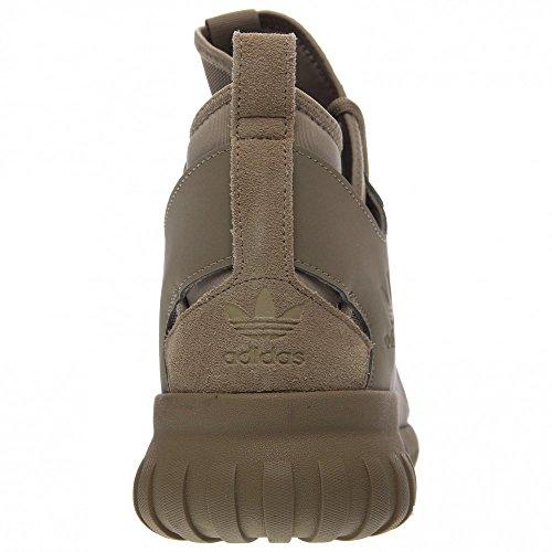adidas Tubular X hombres zapatos de cáñamo/Running White