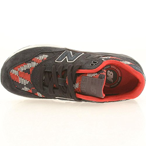 Femme Wrt580pw New Noir Balance Sneakers Pw Black red rouge pw qwgpw