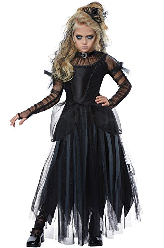 Dark Princess Girls Costume Black ()