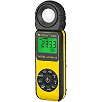 HOLDPEAK 881D Digital Illuminance/Light Meter, 0.1 - 400,000 Lux, 1 - 40,000 FC Luxmeter
