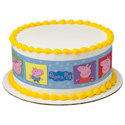 Peppa Pig Birthday Cake Decorations  from images-na.ssl-images-amazon.com