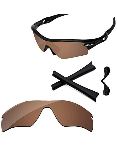 a2a8dce4c4 PapaViva Lenses Replacement  amp  Rubber Kits for Oakley Radar Path Copper  Brown