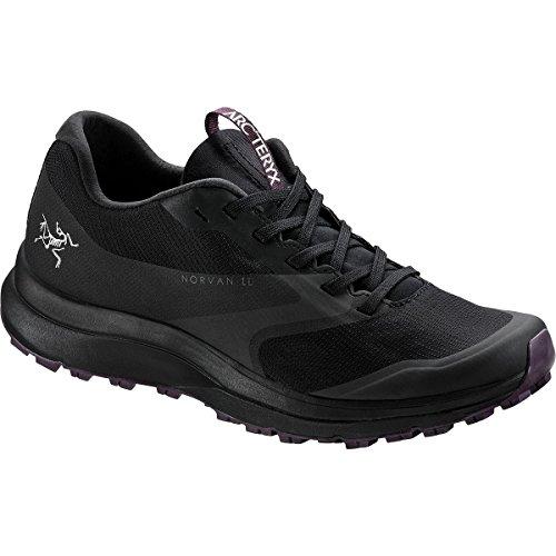 Arc'teryx Norvan LD GTX Trail Running Shoe - Women's Black/Purple Reign, US 7.0/UK 5.5