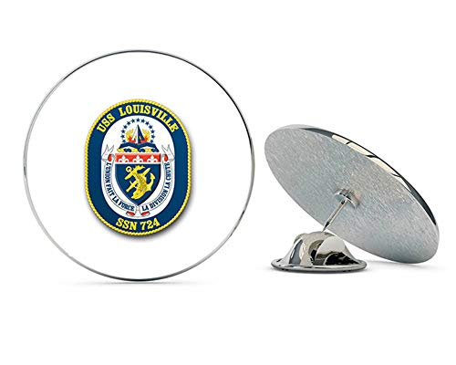 - US Navy USS Louisville SSN-724 Military Veteran USA Pride Served Gift Metal 0.75