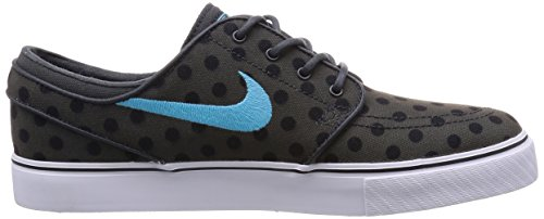 nike SB zoom stefan janoski canvas PRM mens trainers 705190 sneakers shoes, Anthracite / Black / White / Clearwater, 8 M UK