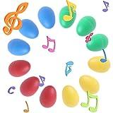 best seller today Rockrok Maracas Egg Shakers 12PCS...