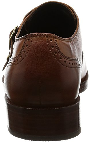 Cole Haan Mens Harrison Grand Double Monk Oxford British Tan / Dark Natural