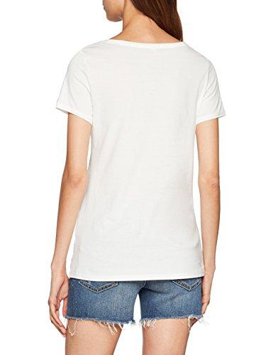 Shirt Donna White T 110 Off Bianco ESPRIT wP5p0x4qq