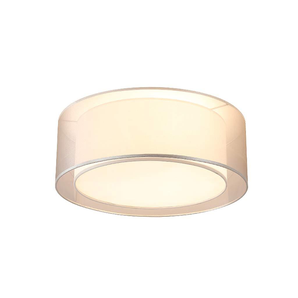 天井照明ラウンド照明ファブリックダブルランプシェードベッドルームレストラン子供ルーム装飾ランプE27光源 (サイズ さいず : 60 cm 60 cm) B07KT4HPNL  60 cm 60 cm