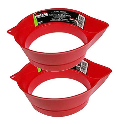 Shur-Line 06100 Gallon Can Paint Pourer (2 Pack) -