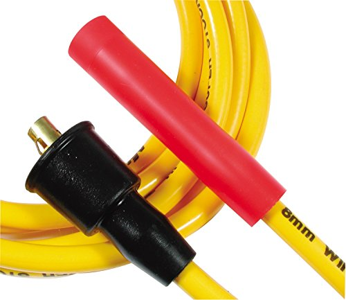 ACCEL 5047Y 8 mm Super Stock Yellow Spiral Wire Set