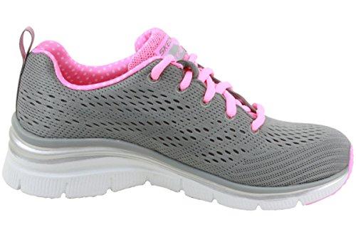 SKECHERS zapatos bajos de las zapatillas de deporte de las mujeres 12704 GRIS talla 35 GRIS oL6kB