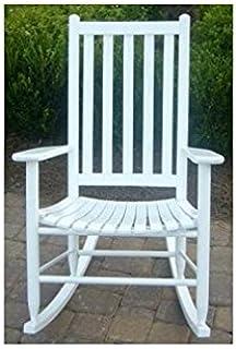 Dixie Seating Company Slat Seat Adult Rocking Chair Unfinished  143394 OG 47429 O