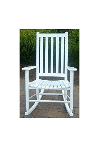 Slat Seat Adult Rocking Chair - Unfinished Child Rocking Chair