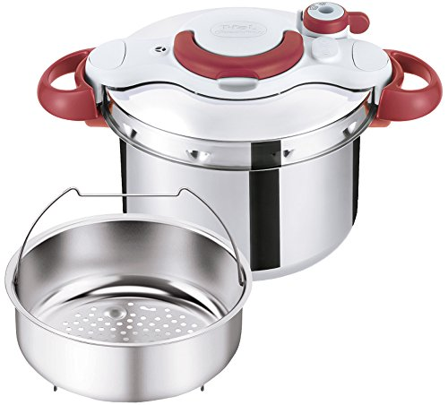 T-fal Pressure Cooker ''ClipsoMinut Easy'' 6.0L (Ruby Red) P4620769【Japan Domestic genuine products】 【Ships from JAPAN】 by T
