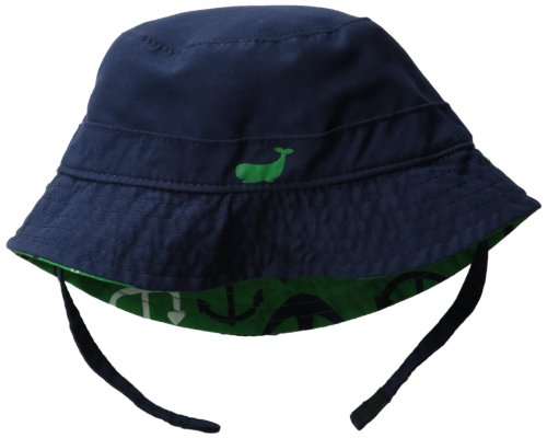 Amazon.com  Carters Baby Boys  Reversible Anchor Bucket Hat with SPF UV 50 c9222e3a3af