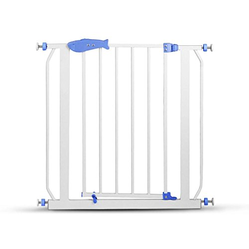 USSay ETohio Baby Safety Door Gate Metal Multifunction Children Security Product, 5-7 (Lp Large Steel Bottom)