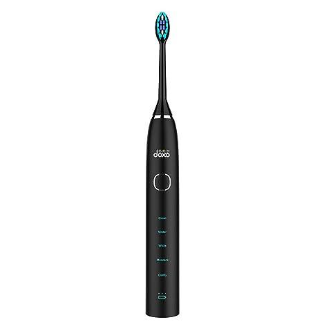 Cepillo de dientes eléctrico sónico cepillo de dientes automático casero vibrante inteligente recargable adulto de Soft