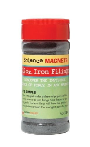 Dowling Magnets Iron Filings, 12 oz.
