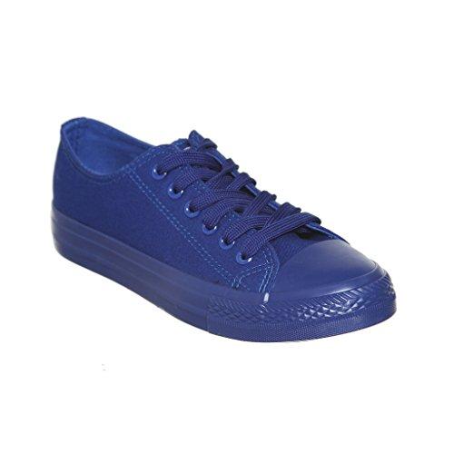 Nuovo Stile!! Sneaker Da Donna Classica Da Skate In Canvas Best Seller Skybluex