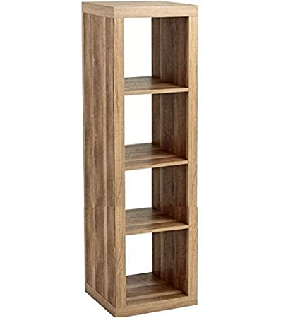 Better Homes And Gardens Furniture 4 Cube Room Organizer Storage Bookcases  (Weathered)