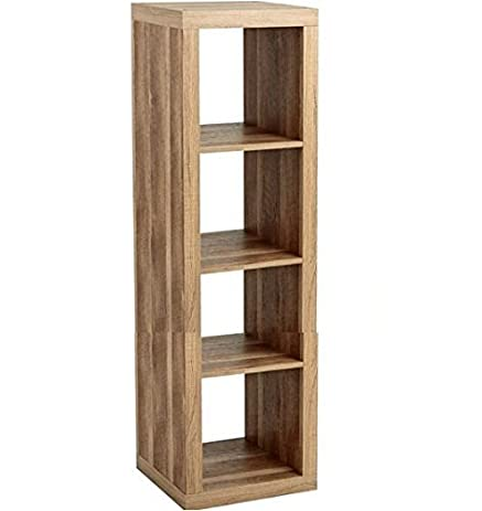 Better Homes And Gardens Furniture 4 Cube Room Organizer Storage Bookcases  Weathered
