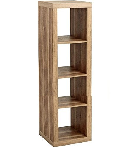 Better Homes and Gardens Furniture 4-Cube Room Organizer Storage Bookcases (Weathered) - Garden Room Furniture